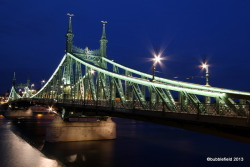 Liberty Bridge by ~bubblefield-photo