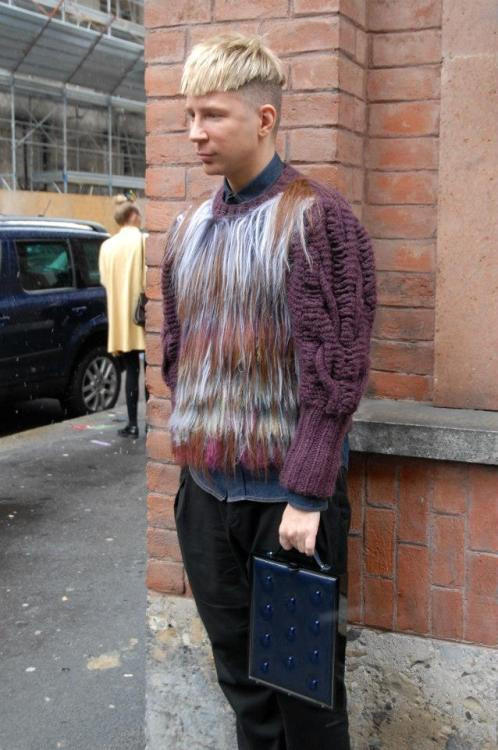 Kyle Anderson @KyleEditor at Milan Fashion Week