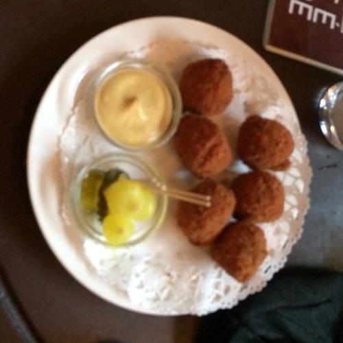 Bitterballs!!! #tfiosmovie #amsterdam
