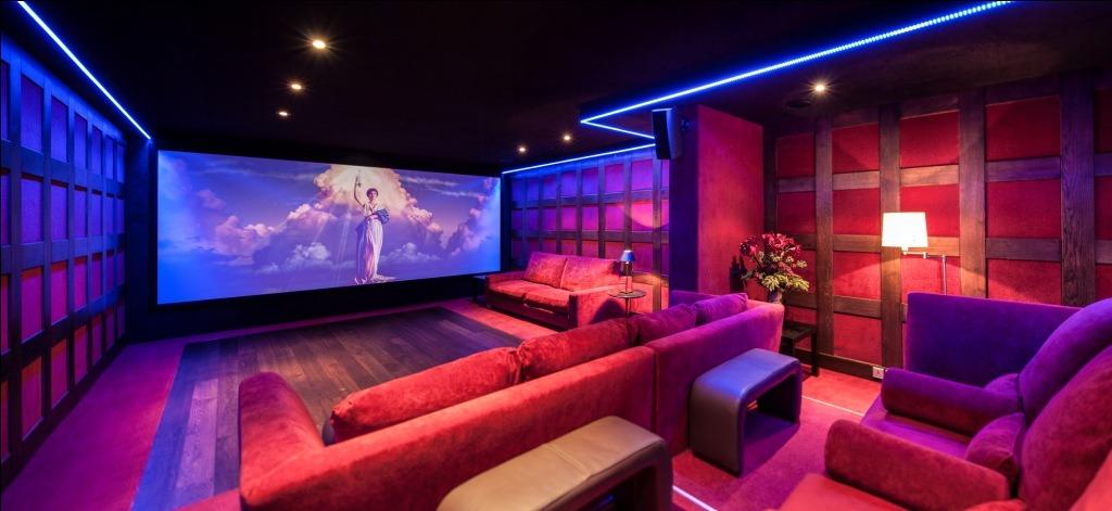 Interior Design Inspiration: Cinema Rooms