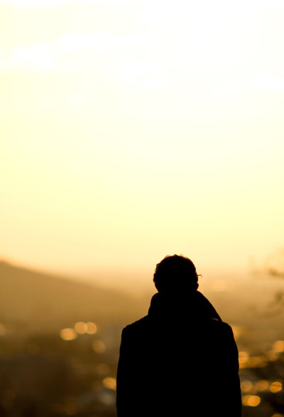 shutterstock:  Guy in Silhouette. Photograph by Alex Emanuel Koch