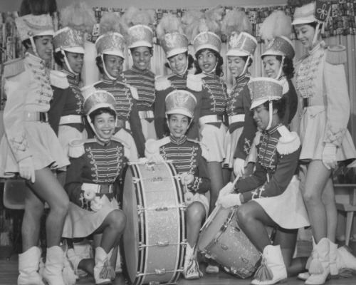 DRUMLINE | 1950s via Black History Album, The Way We WereFollow us on TUMBLR  PINTEREST  FACEBOOK  TWITTER