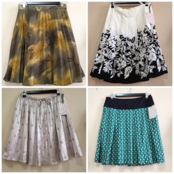 Skirts in lots of prints and patterns 2 for $70 or 3 for $90