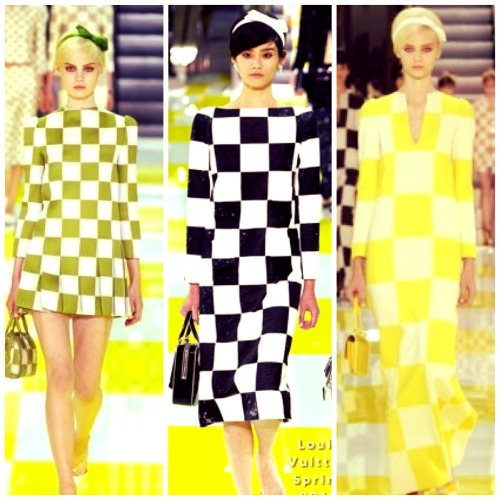 I absolutely ADORE these motif box dresses from the Louis Vuitton Spring 2013 collection……. Marc Jacobs is aHmazzz!😍
