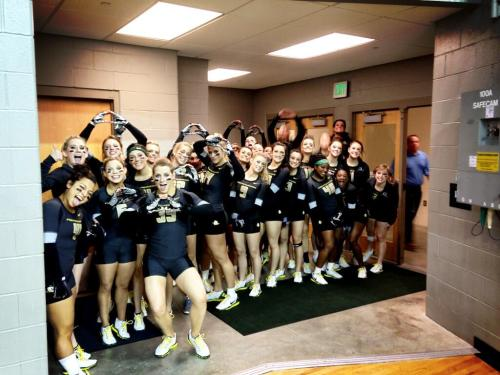 Acrobatics and Tumbling: Oregon Ducks Win 3rd Straight National Title Congrats to the Oregon Ducks Acrobatics and Tumbling team! For the third straight year, they have won the NCAA National Championship. Click here to follow @OregonPitCrew on Twitter.