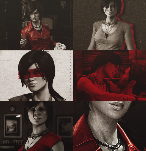 zachillios:  {Color Meme}: Chloe Frazer In Red