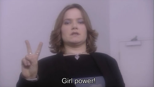 scummygoldenboy:  Girl power! Spaced
