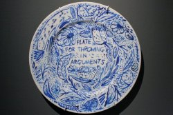 'Plate For Throwing In Arguments', by Keaton Henson. (Not just a wonderful voice with a new album out today).