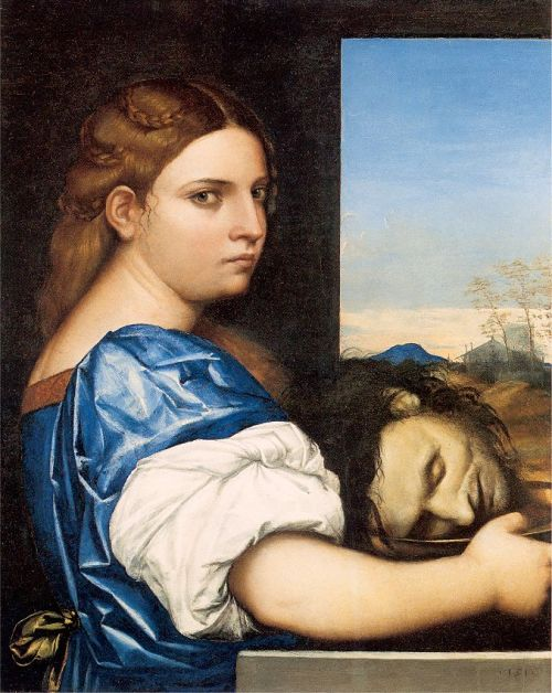 Salome with the Head of John the Baptist, by Sebastian del Piombo