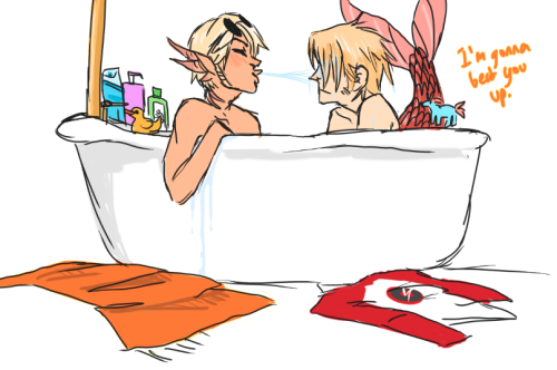 strideer:  the reason dirk has showers