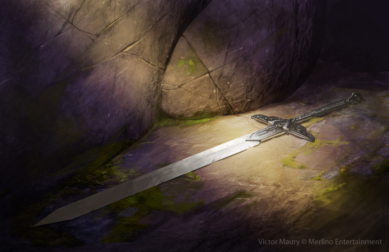 Iron Sword Victor Maury © Merlino Entertainment blog / da / prints