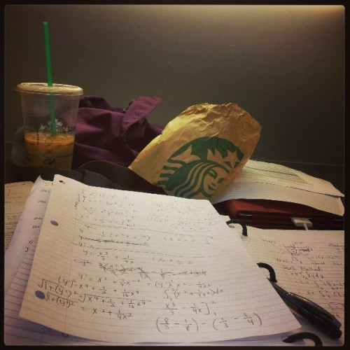 Sacrificing a beautiful Saturday to study…. I better get that A+ #assholesditchedme