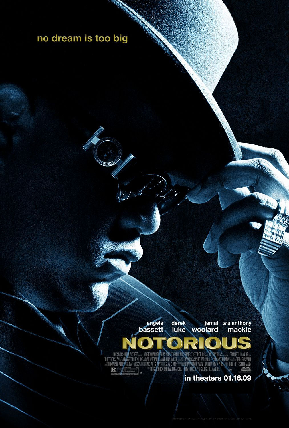BACK IN THE DAY |1/16/09| The movie, Notorious, is released in theaters.