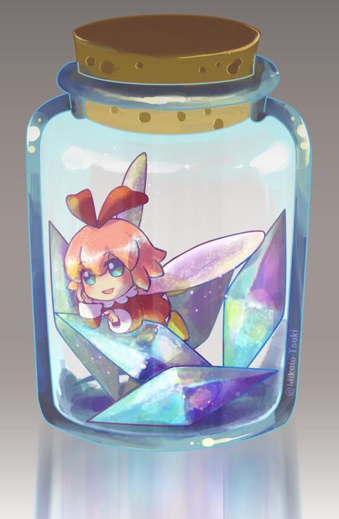 Mikoto Tsuki art kirby kirby 64 kirby 64 the crystal shards ribbon fairy