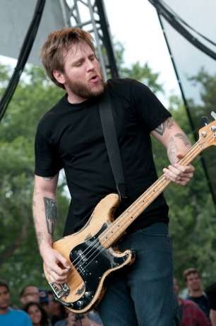 rollingstone:  Against Me! bassist Andrew Seward has left the band on amicable terms.