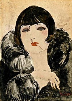 mimbeau:  Kees Van Dongen Ziegfield Follies girl