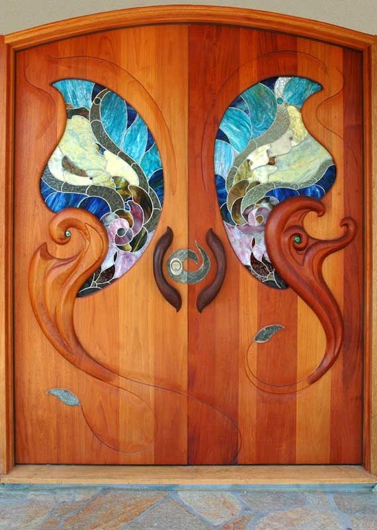 ronbeckdesigns:  doors