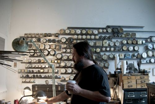 Studio Beat takes us inside Ken Nicol's Toronto studio.