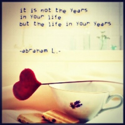 So live to the fullest!   #instaquote #abraham #live #life #fun #tagforlikes #instapic #heart
