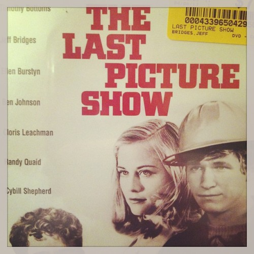 @itsmeashley_d bought The Last Picture Show. #thedude #archercity #texas
