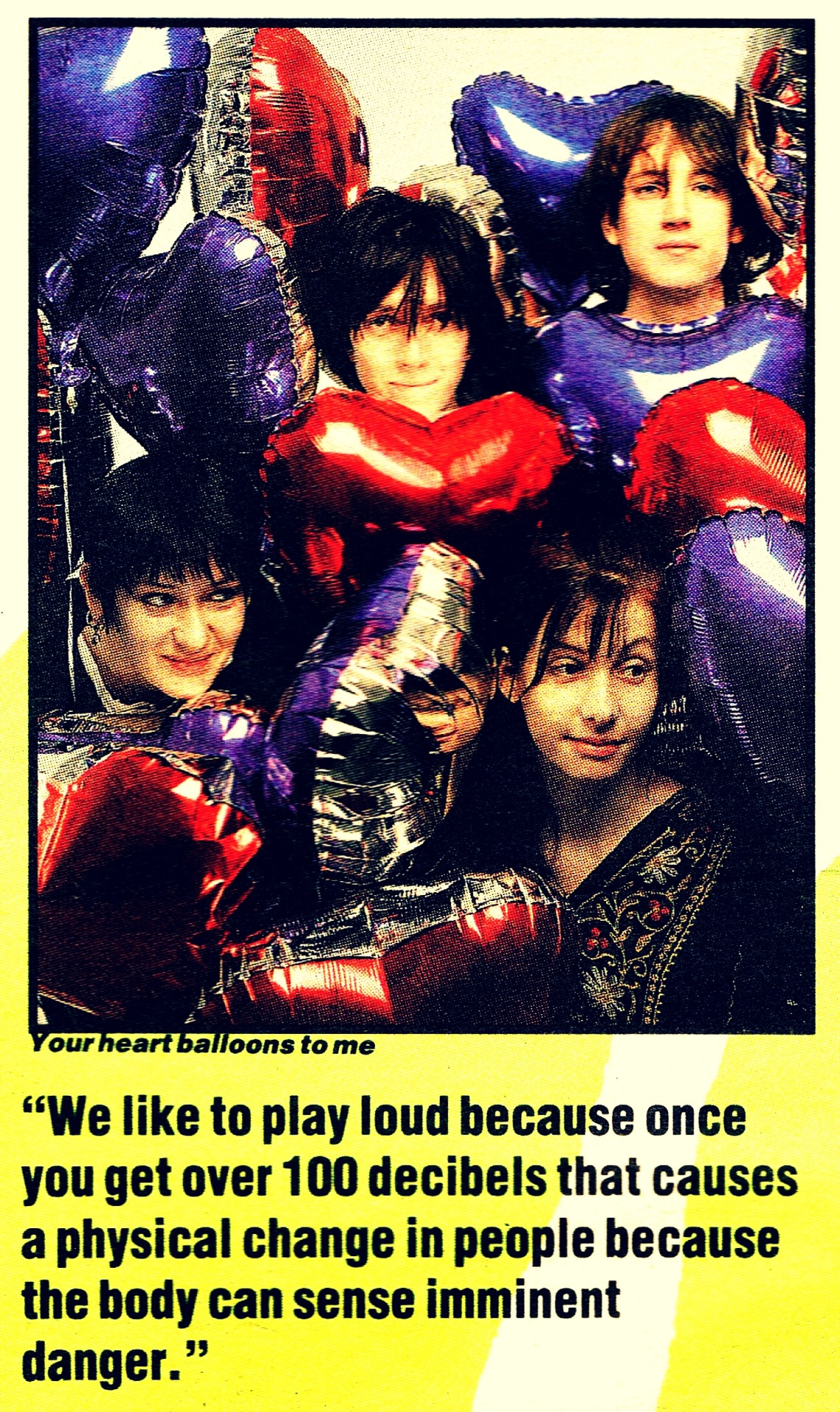 batchelorkisses:  MBV NME 1990