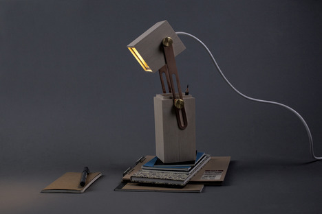 Pencil Light by Caroline Olsson