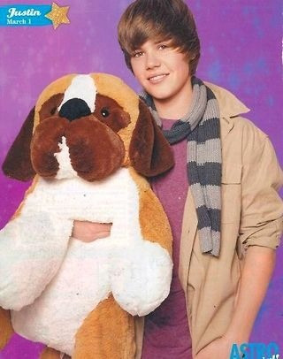 Old picture of Bieber.