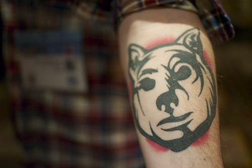 Spotted in the wild, @paul_gandersman's sweet YOU'RE NEXT tattoo!