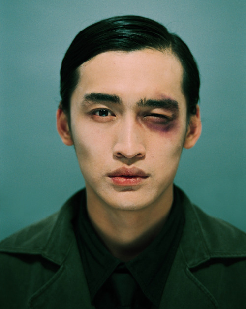 jonathonyork:  Wang Yi FeiUntitled (Self-Portrait), 2006