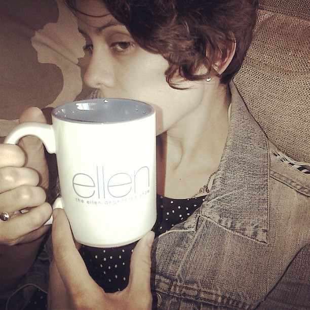 teganandsara:  I wear the @theEllenshow underwear too.  Tegan's underwear.