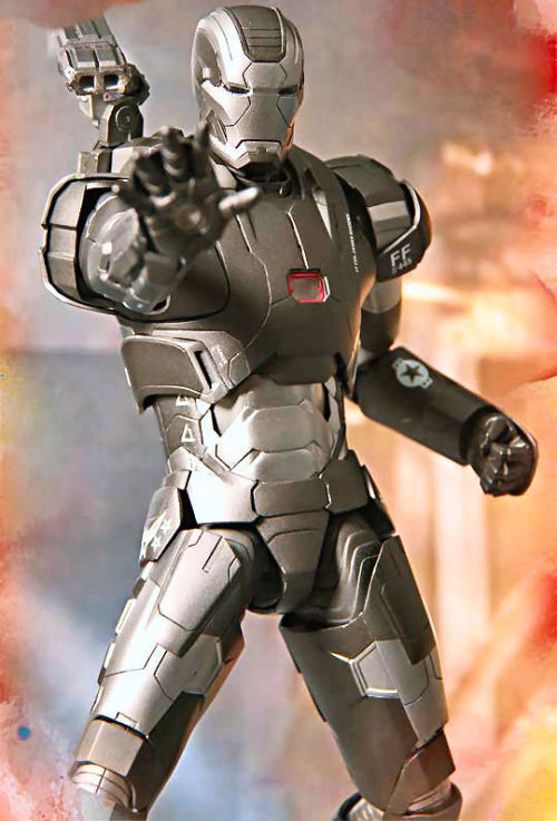 gunjap:  [Iron man 3] 1/6 War machine Mk-II. (Hot Toys) Preview Big Size Imageshttp://www.gunjap.net/site/?p=131253  Iron3