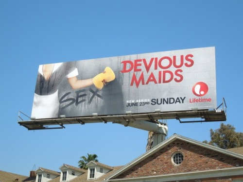 jasoninhollywood:  Devious Maids series premiere billboards around L.A.http://www.dailybillboardblog.com/2013/05/devious-maids-series-premiere-tv.html