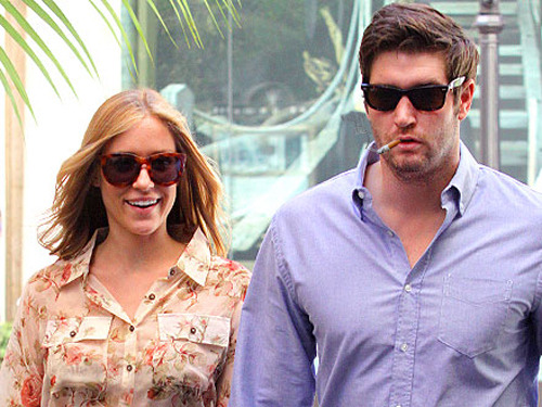 "Congrats to Smokin' Jay Cutler for proposing to his girlfriend Kristin Cavallari in the most apathetic way possible: via text message! From NFL.com (full story here): ""It was so silly."" Cavallari told E! News. ""I was in the airport, leaving Chicago. We had just spent however many days together and we were texting and somehow it came up, like, 'Oh, shall we get married?' We're like, 'Yeah, OK.' And then he sent my ring in the mail. So I actually had my ring sitting at home for a couple of weeks before I put it on."" If that isn't just textbook Smokin' Jay being Smokin' Jay, I don't know what is."