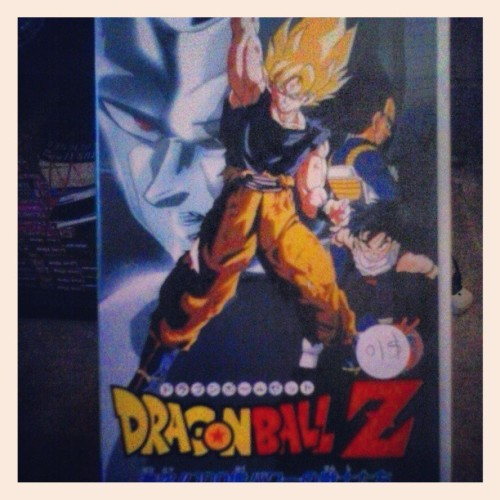Love me some DragonBall Z! This was my childhoooood. #dbz #anime #manga #japanese #goku #gohan
