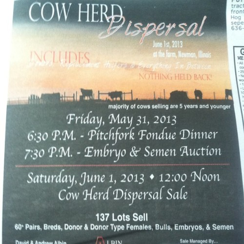 Never been so excited for a semen auction.