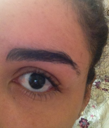 I accidentally over plucked the ends of my left eyebrow. How will I go on?