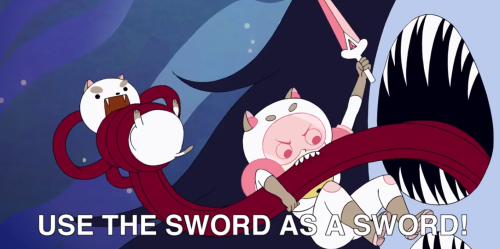 failarina:  rubickscuban:  Thisneedsto be a series! It's like Adventure Time on crack!  YASSS