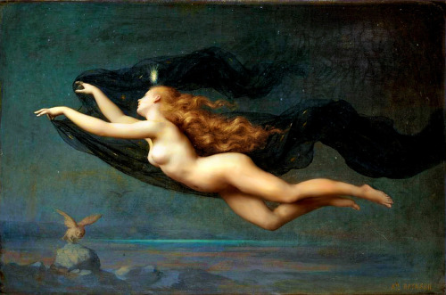 for-redheads:  La Nuit by Auguste Raynaud