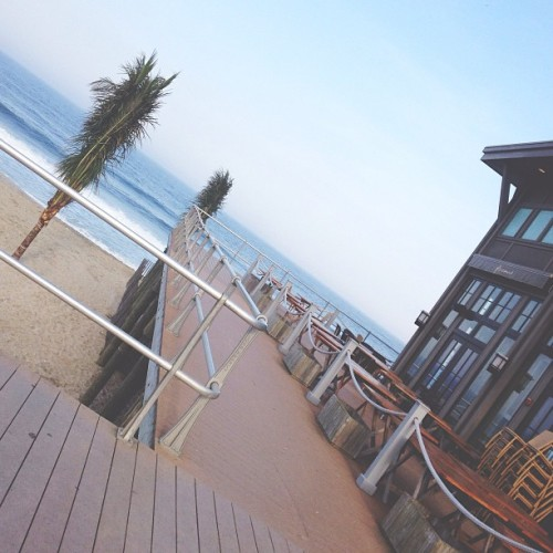 😍 (at Pier Village Beach)