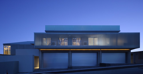 house in the suburb of osaka ~ ando corporation