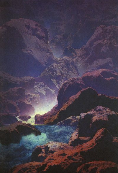 cosmiic:  By Maxfield Parrish