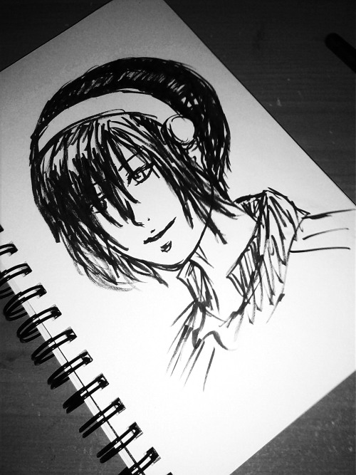 5 minute Toph. Her hair is not right… ;-;