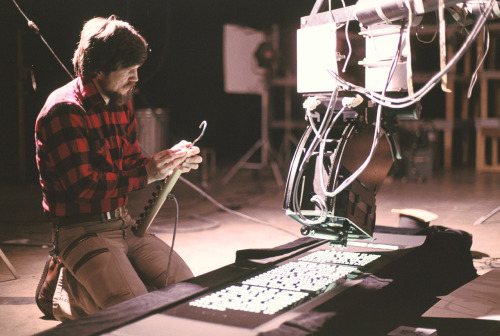 starwars:  Throwback Thursday - Ever wonder how we filmed the opening crawl? Now you know.