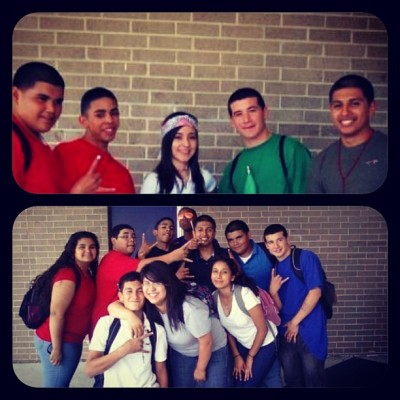Ayy the crew back in 8th grade….. #cincodemayo #tbt #life #guudoledays 💯👌😎😂😎