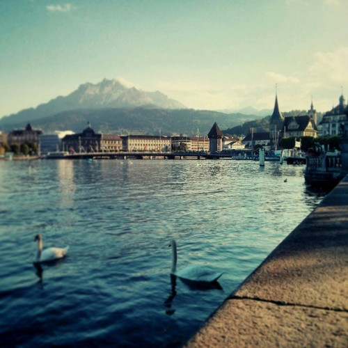Spent one last night in Luzern.