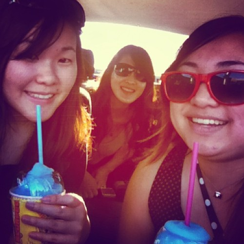 slurpees on the way back to Sydney