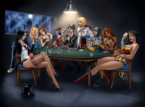 This is a sweet poker night.
