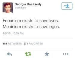 twitter feminist feminism oooooo meninism