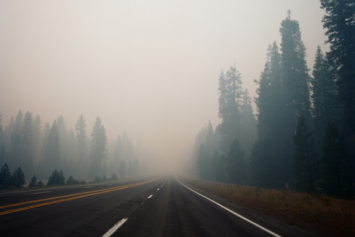 inscendo:  Lassen National Park Wildfire by The Headless Thompson Gunner
