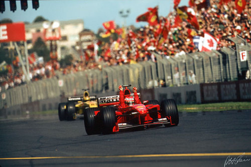 That one time Eddie Irvine nearly won the world championships, despite McLaren's best efforts to stop themselves from repeating.
